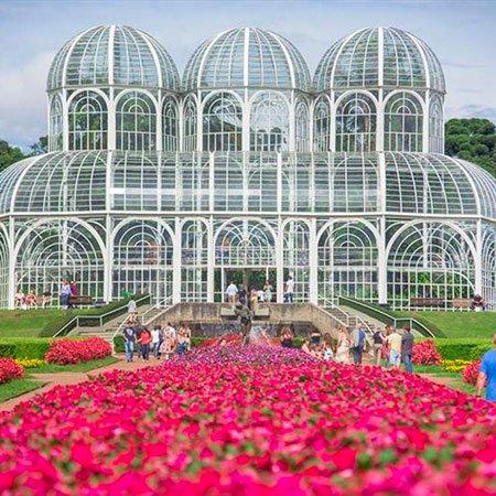 Jardim Botânico de Curitiba, no Paraná