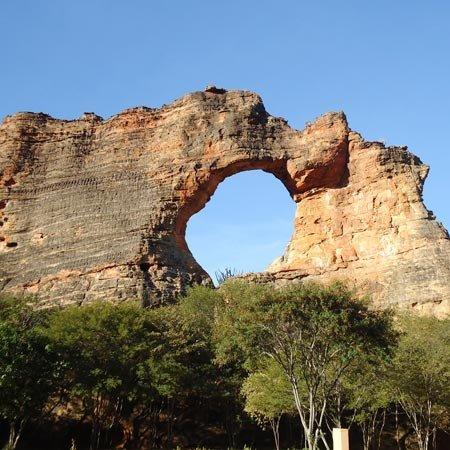 Foto do Parque Nacional da Serra da Capivara