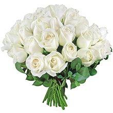 Buquê Amore de Rosas Brancas