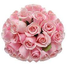 Buquê Soneto 36 Rosas Cor de Rosa