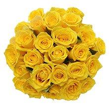Buquê Poema 24 Rosas Amarelas