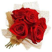 Buquê Delicadeza com Rosas Vermelhas