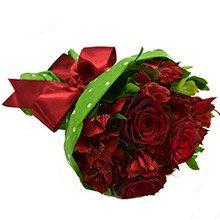 Buquê Suavidade de Flores Vermelhas
