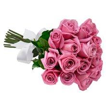 Buque de 18 Rosas Lilás
