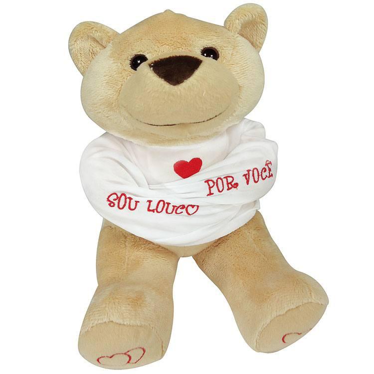 """Urso """"Louco por Você"""""""
