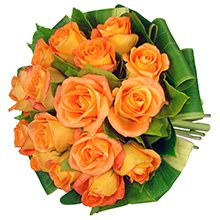 Buquê Simpatia de Rosas Orange