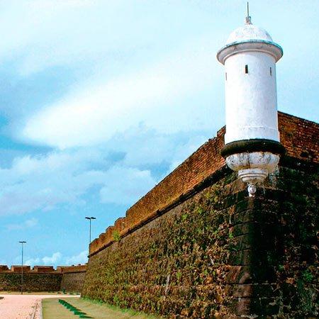 Fortaleza São José, em Amapá