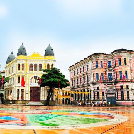 Praça Barão de Rio Branco, em Pernambuco