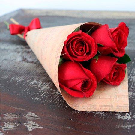 Buquê de Rosas para Dia da Mulher