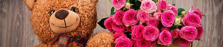 Flores e Pelúcias