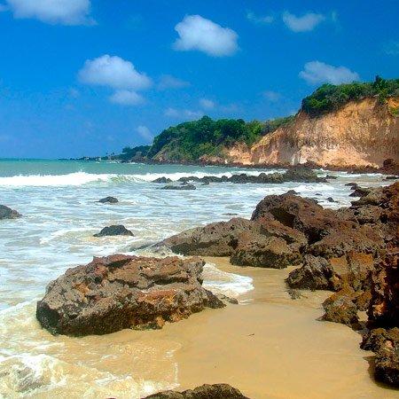 Praia do Cotovelo em Parnamirim
