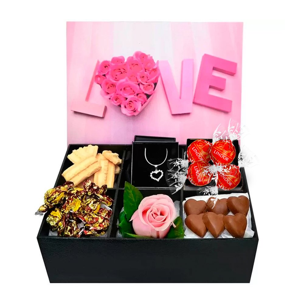 Caixa de Chocolates Sweet Love
