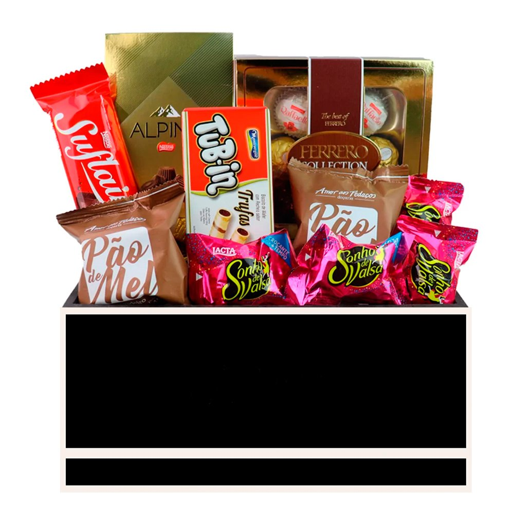 Kit Cesta de Chocolates