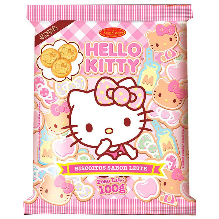 Biscoito Hello Kitty