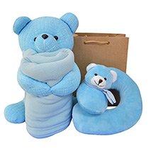 Kit Kraft Bons Sonhos Azul