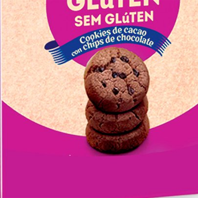 Cookie de Chocolate Zero Glúten e Lactose