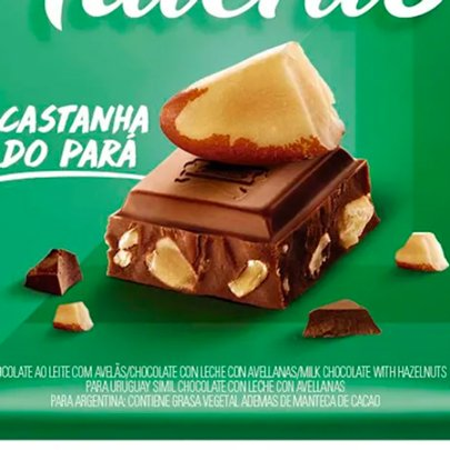 Chocolate Talento Castanha do Pará 90g